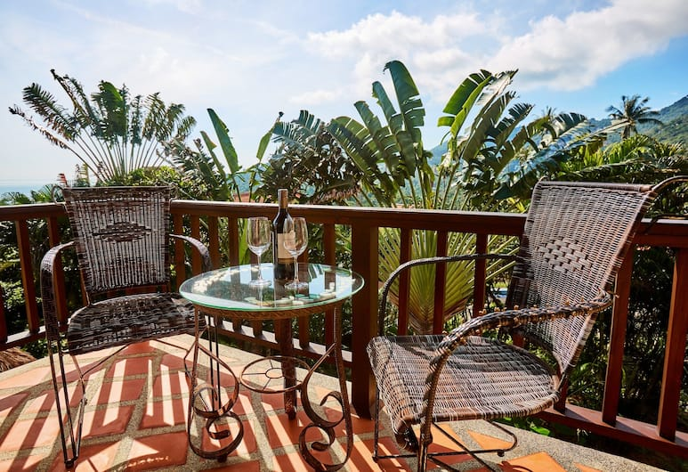 NB Villa Lilawadee, Ko Samui, 4 Bedroom Pool Villa, Balcon