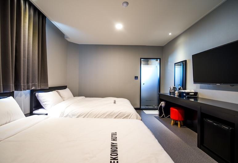 束草經濟飯店, 束草, 家庭客房, 2 張標準雙人床, 客房