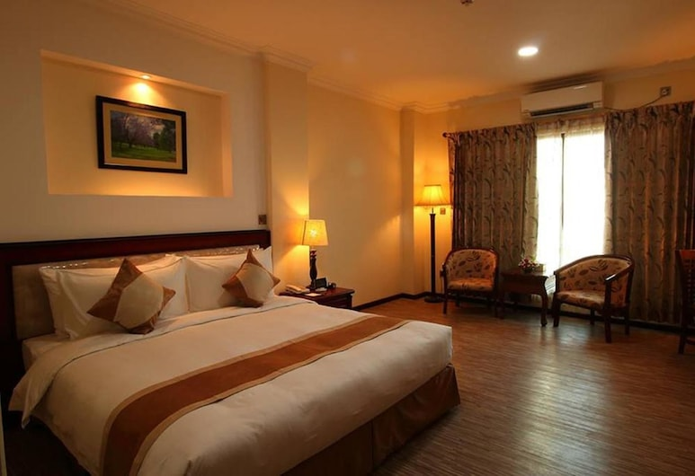 Victoria Palace Hotel, Mandalay, Suite, Chambre