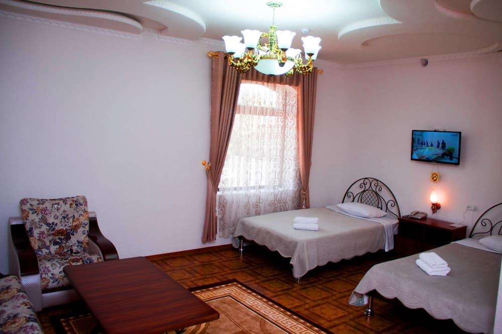 ห้องแฟมิลี่, 1 ห้องนอน - พื้นที่นั่งเล่น
