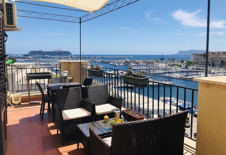 Kasa Kala, Palermo, Penthouse Deluxe, 3 habitaciones, terraza, vista al mar, Terraza o patio
