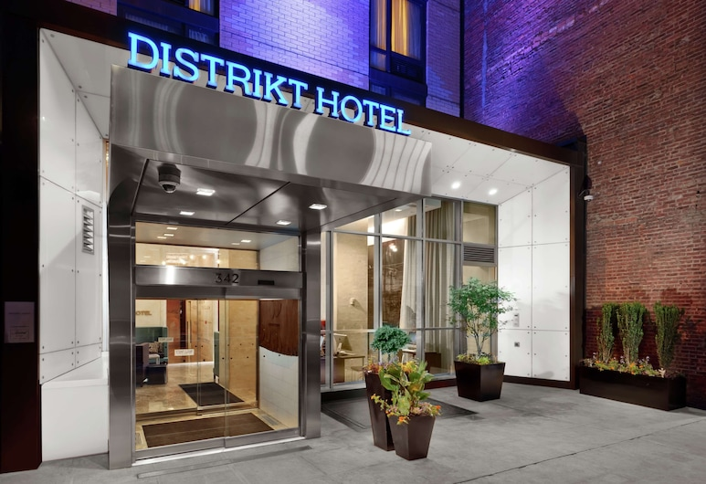 Distrikt Hotel New York City, Tapestry Collection by Hilton, New York