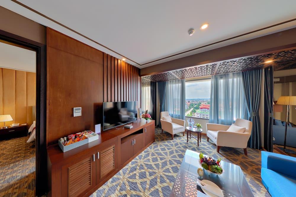 Suite (Double) - Living Area