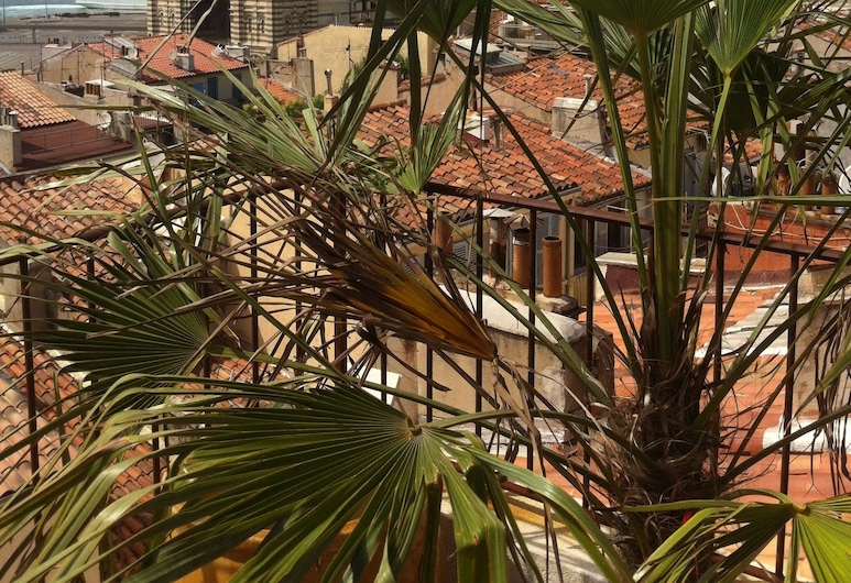 ADORAMAAR - Le Loft, Marseille, Loft, 2 Bedrooms, with rooftop terrace, View from room