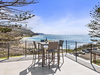 Wollongong bölgesindeki Headlands Austinmer Beach resmi