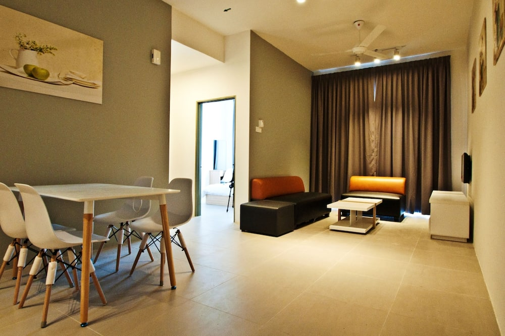 Appartement Deluxe, 2 chambres - Coin séjour