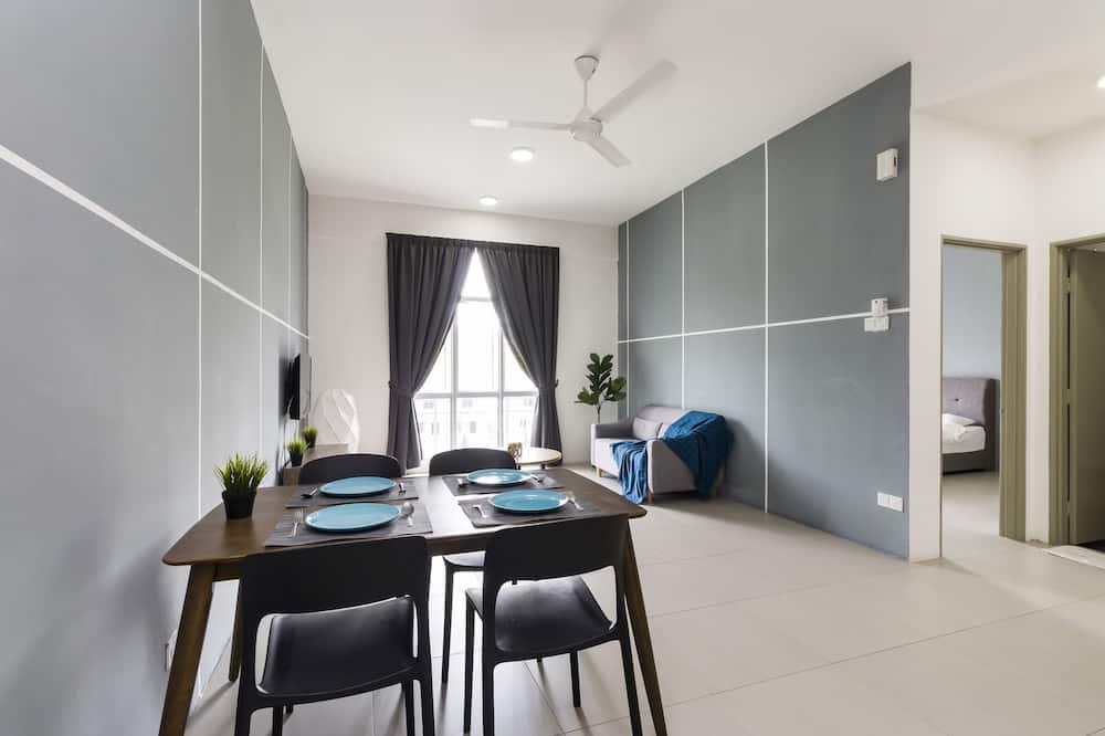 Appartement Deluxe (Studio) - Salle de séjour