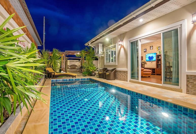 Ao Nang Sweet Pool Villa, Krabi, 3 Bedroom Pool Villa, Terras