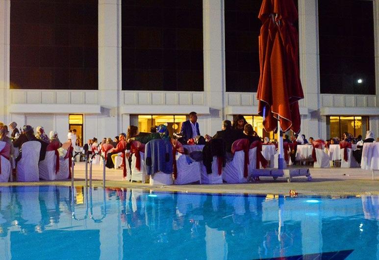 Rabat Resort Hotel, Adiyaman, Prostor za vjenčanja na otvorenom