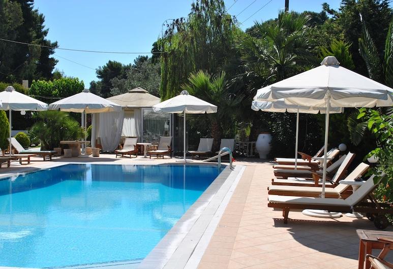 Villa Miltos Apartments, סקיאתוס, בריכה