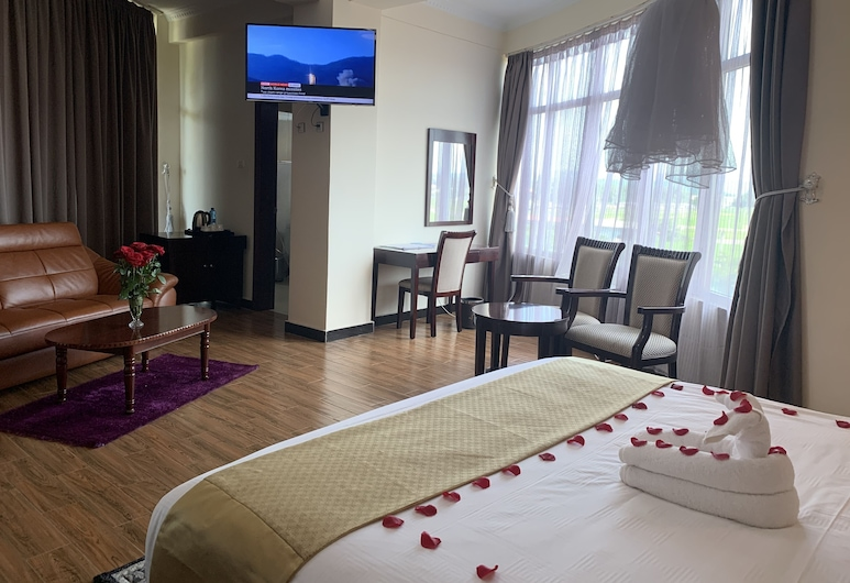 Delano Hotel, Bahir Dar, Deluxe Double Room, Guest Room