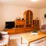 Condominio familiar, 2 habitaciones, para no fumadores, vista al jardín - Sala de estar