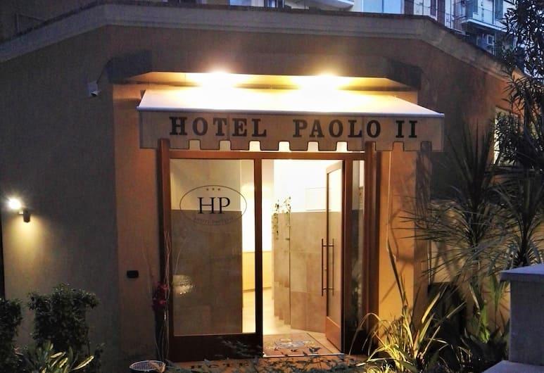 هوتل باولو II, روما, واجهة الفندق - مساءً /ليلا