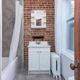 Apartament typu City, 1 sypialnia, dla niepalących, kuchnia - Łazienka