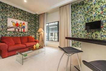 奥克蘭明亮微風一房公寓酒店的圖片