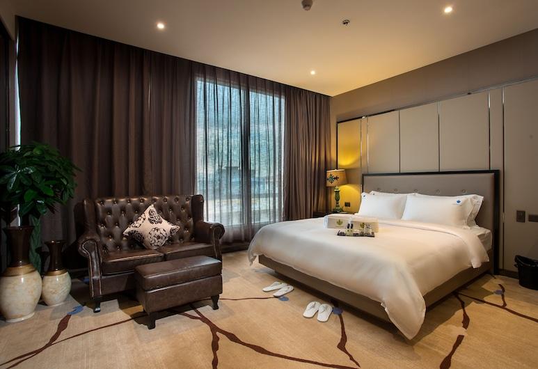 Lotus Blu Hotel, Legazpi, Suite, 1 soverom (Corner), Gjesterom