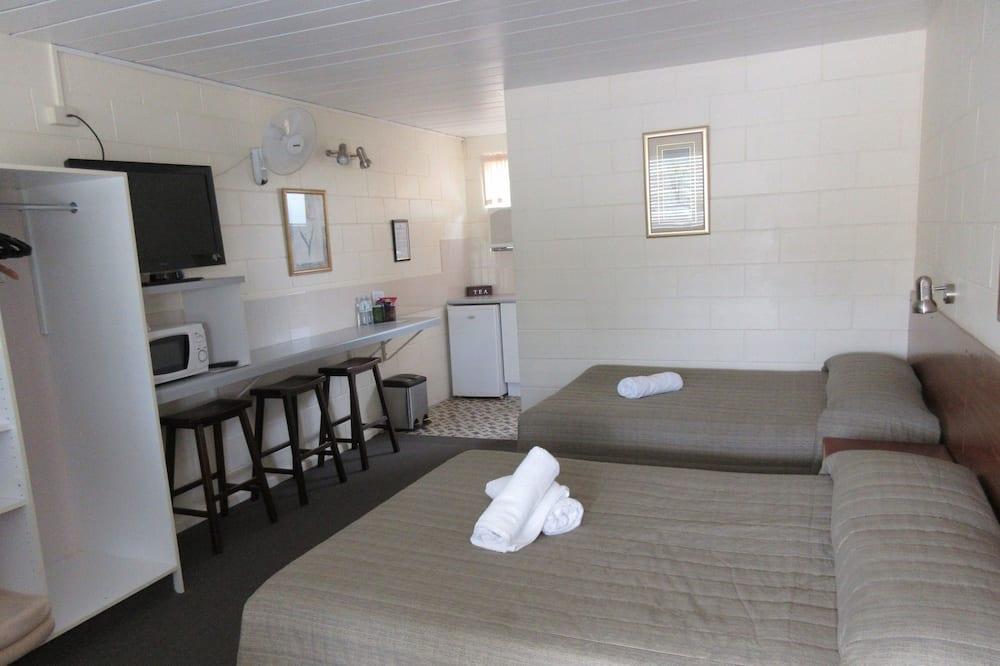 Habitación con 2 camas individuales (2 Double Beds) - Sala de estar