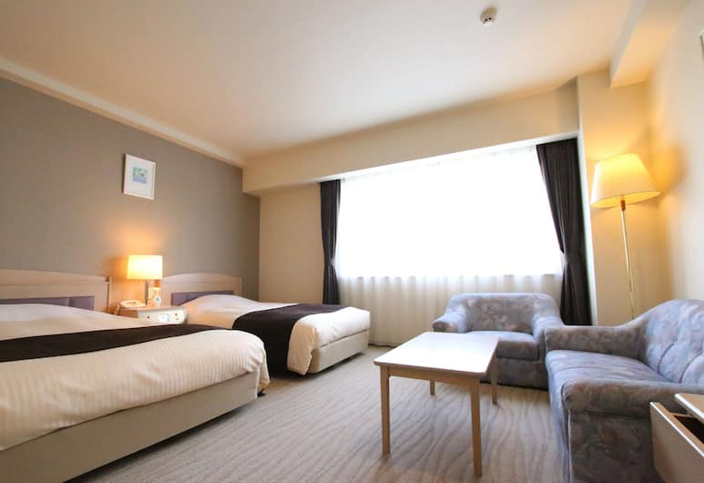 Kotoni Green Hotel, Sapporo, Large Twin Room, Smoking, Guest Room