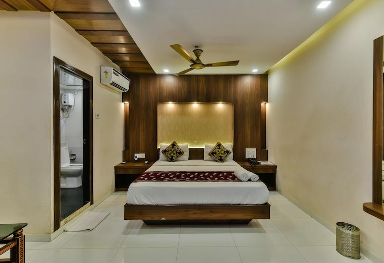 Hotel Guest Inn Residency, Bombay, Deluxe Tek Büyük Yataklı Oda, 1 Yatak Odası, Oda
