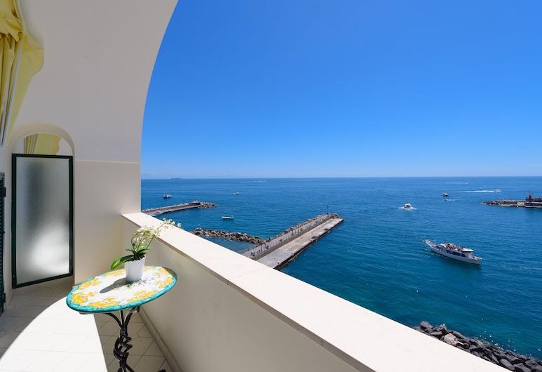 Vista D'Amalfi, Amalfi, חדר סופריור זוגי, נוף לים, מרפסת/פטיו