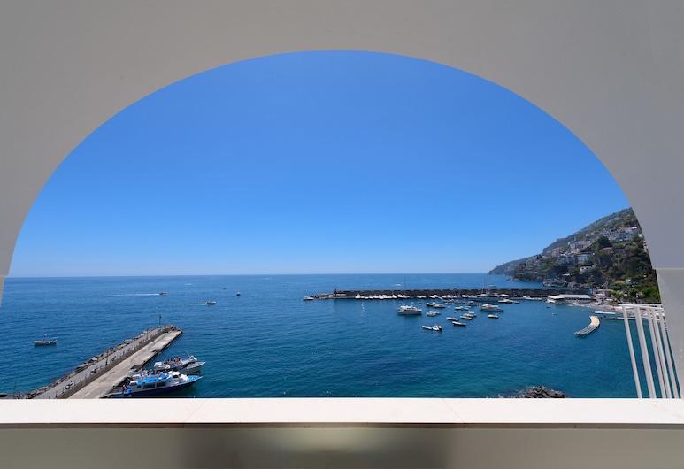 Vista D'Amalfi, Amalfi, Pokój dwuosobowy typu Elite, widok na morze, Taras/patio