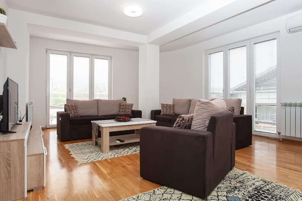 高級公寓, 2 間臥室, 露台 - 客廳