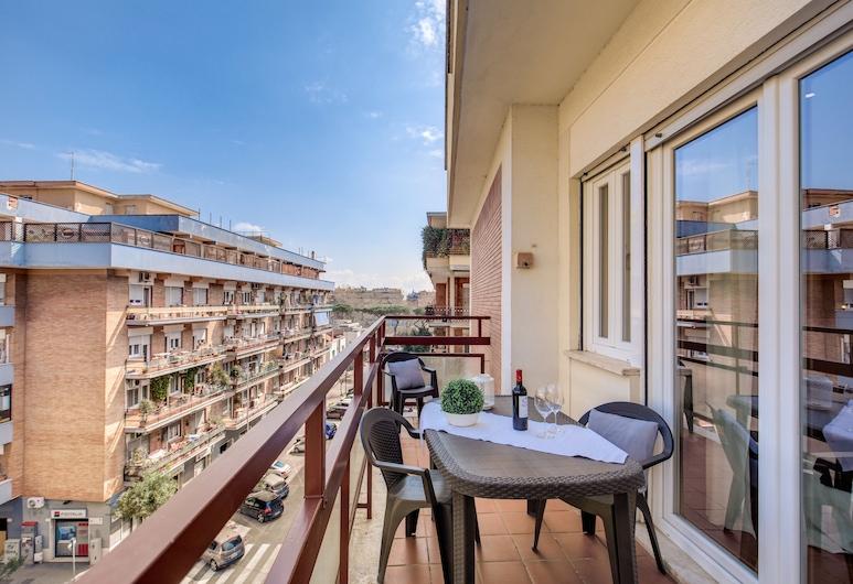 羅馬 4 客 2 主人酒店, 羅馬, 公寓, 2 間臥室, 露台