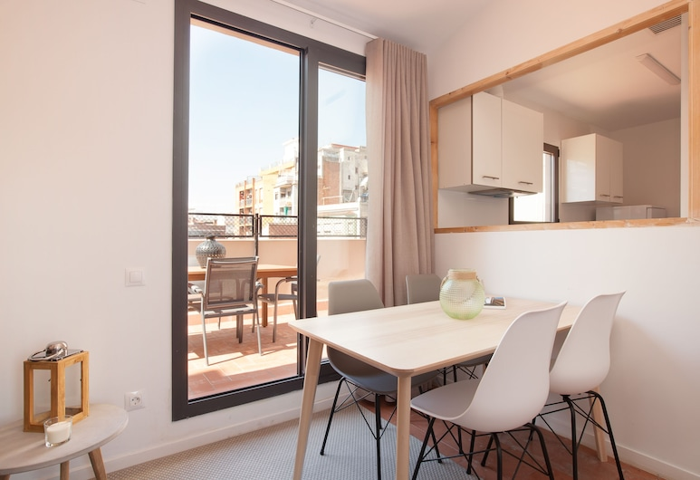 Click&Flat Europa Fira Apartments, L'Hospitalet de Llobregat, Katusekorter, 3 magamistoaga, Tuba