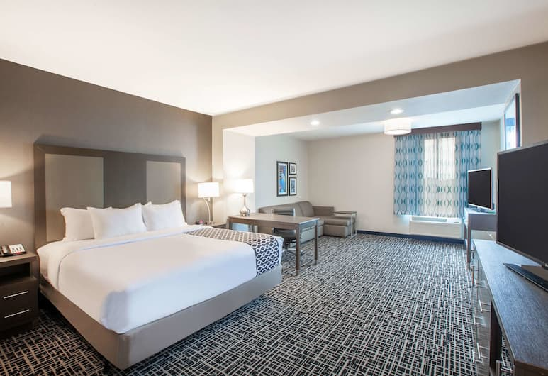 La Quinta Inn & Suites by Wyndham San Marcos Outlet Mall, San Marcos, Deluxe Room, 1 Katil Raja (King), Accessible, Non Smoking (Mobility Accessible), Bilik Tamu