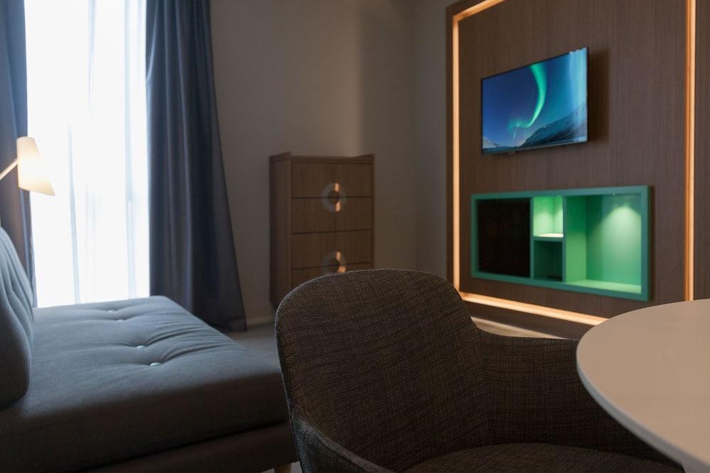 Apartmá s ložnicí a obývacím koutem - Obývací pokoj