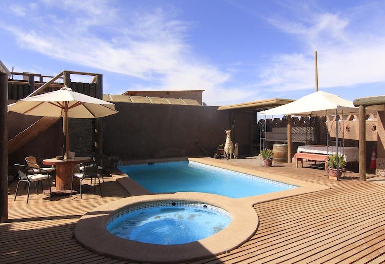 何塞民宿, San Pedro de Atacama, 泳池