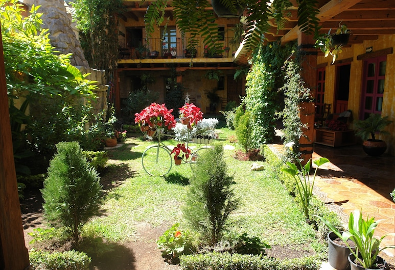 Hotel Posada Primavera, סאן כריסטובל דה לאס קסאס, גינה