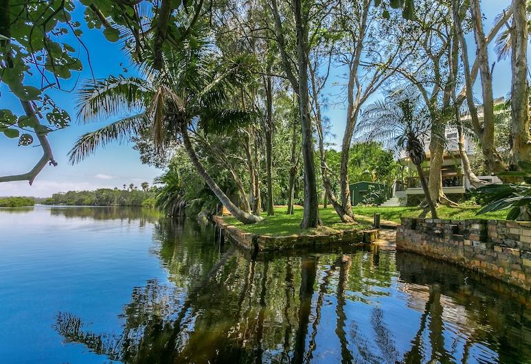 Sweethaven, Byron Bay, Terrenos del establecimiento