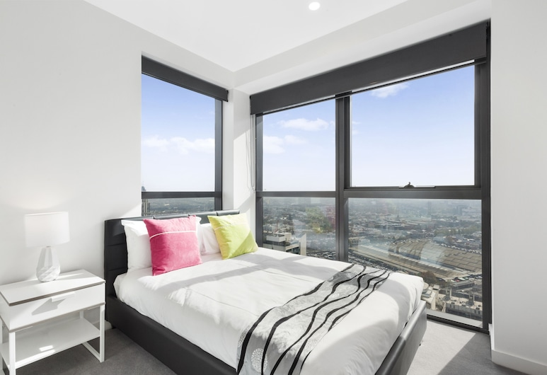 Platinum City Serviced Apartments, Melbourne, One Bedroom Apartment, View from room