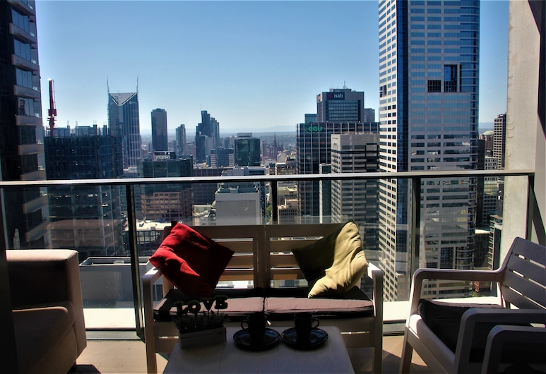 Upper West Side Apartments, Melbourne, Panoramic 2 Bedroom Apartment - 43, Balcony
