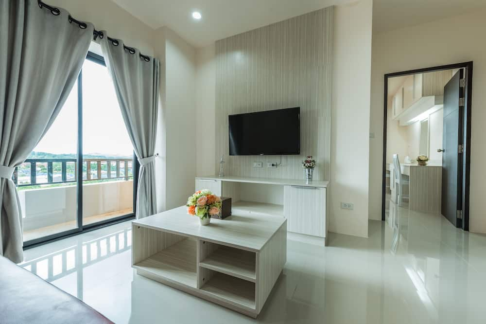 Luxury Twin Room - Living Area