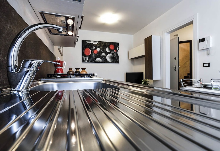 Brick House Treviso, Treviso, Apartment, 1 Bedroom, Garden View, Dapur peribadi
