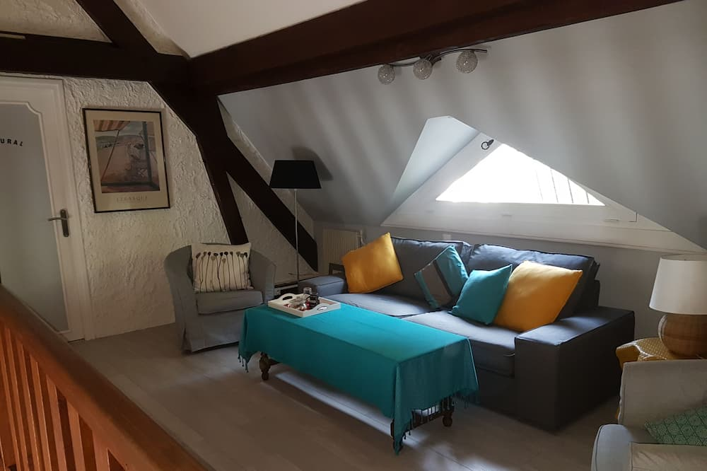 Familiesuite - 2 soveværelser - Opholdsområde