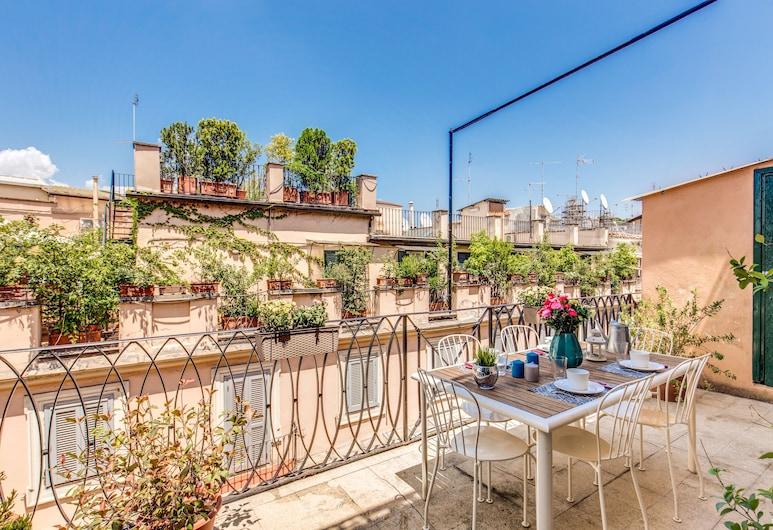 西班牙魅力生活頂層房酒店, 羅馬, 陽台