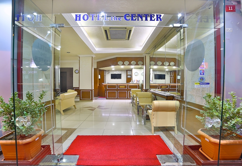 The Center Hotel, Istanbul, Hotellinngang
