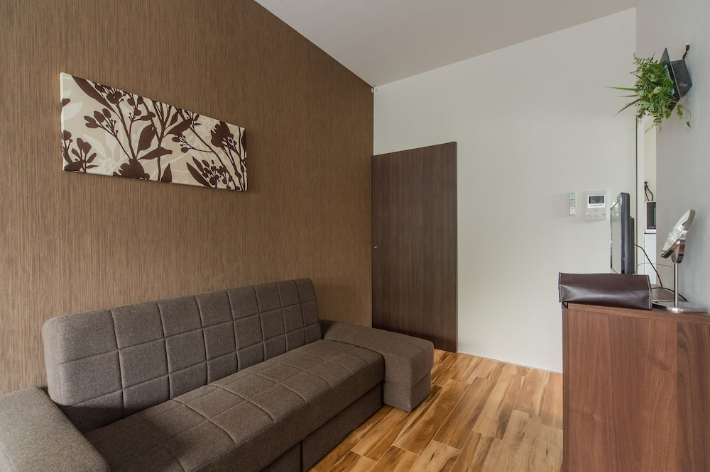 Business Room, 1 Double Bed with Sofa bed, Non Smoking, Kitchen - Living Area