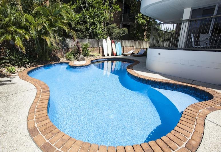Byron Pacific Apartments, Byron Bay, Piscina al aire libre