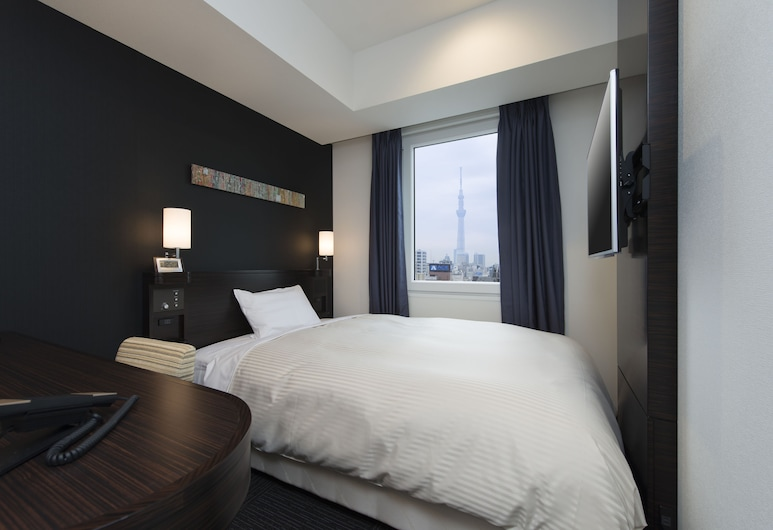 Hotel Guest1 Ueno Ekimae, Tokyo, Economy Double Room, Smoking (Bed Size:1400mm), Guest Room