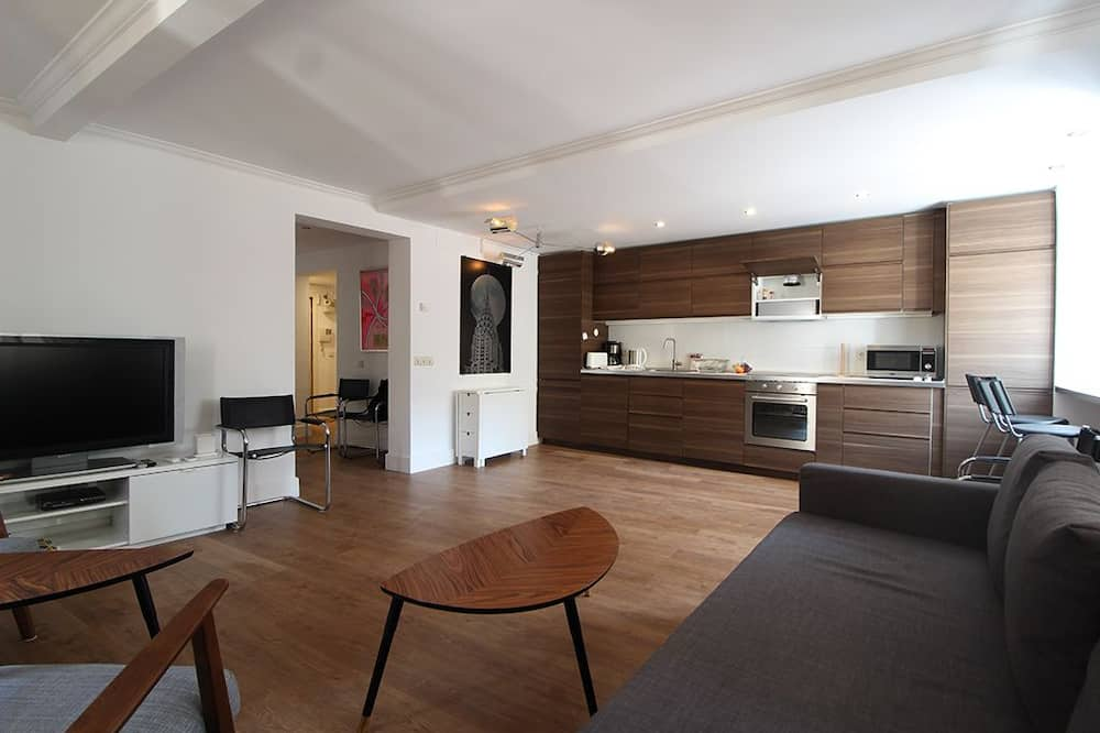 City Διαμέρισμα, 2 Υπνοδωμάτια - Περιοχή καθιστικού