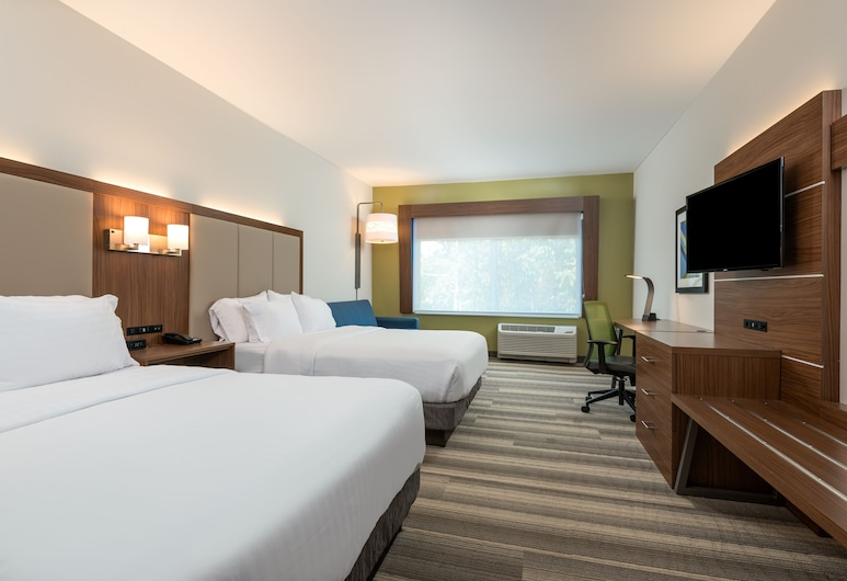 Holiday Inn Express Queensbury - Lake George Area, Queensbury, Zimmer, 2Queen-Betten, barrierefrei, Nichtraucher (Mobility), Zimmer