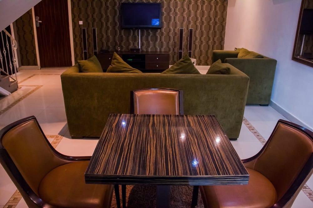 Apartmán typu Exclusive, 2 spálne - Obývacie priestory