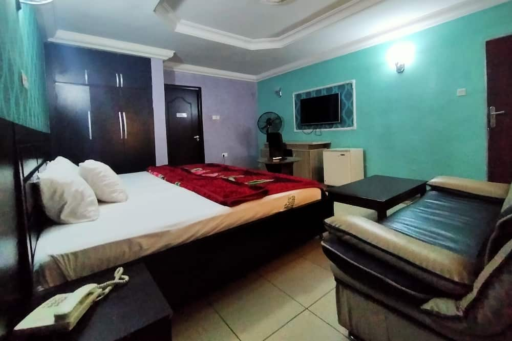 Royal Δωμάτιο, 1 Queen Κρεβάτι - Περιοχή καθιστικού