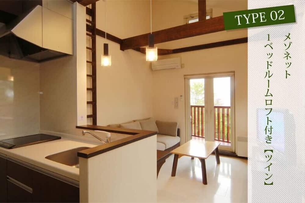 Apartment, 1 Bedroom (Twin) - Bilik