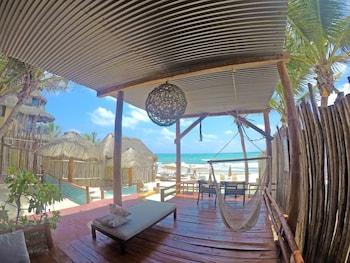 Foto van Keniza Beach Hotel in Tulum