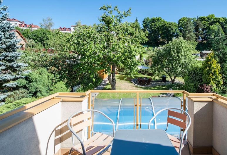 Hotel Garni Pod Skalkou, Ceský Krumlov, Apartment, Balkon (Kitchen), Balkon
